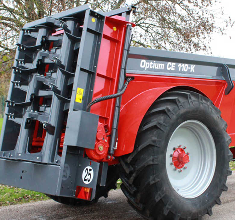 optium manure spreader