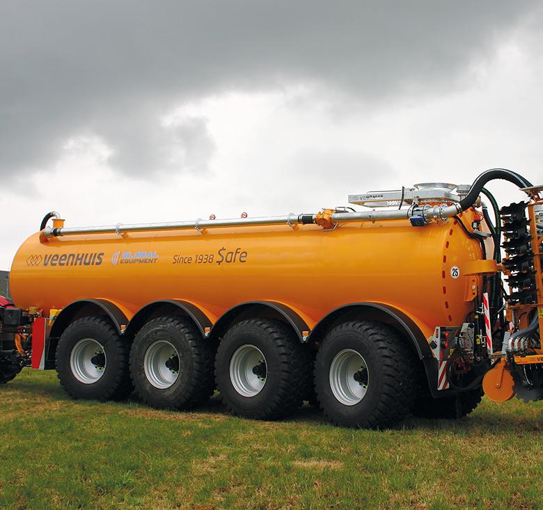 premium integral slurry tanker